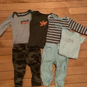 Carter's 6 month Outfit Bundle 3-6mo Baby Boy
